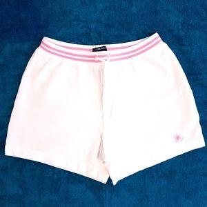 🆕️GAP Stretch white + pink shorts